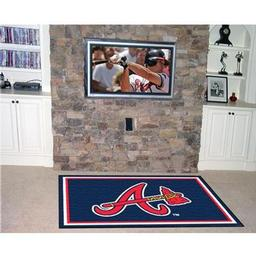 Click here to learn more about the Atlanta Braves Rug 4''x6''.