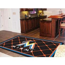 Click here to learn more about the Miami Marlins Rug 5''x8''.