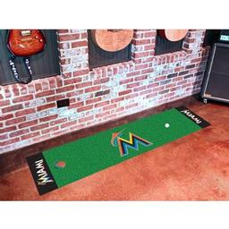 Click here to learn more about the Miami Marlins Putting Green Runner.