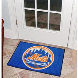 "Click here to learn more about the New York Mets Starter Rug 20""x30""."