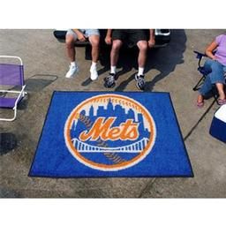 Click here to learn more about the New York Mets Tailgater Rug 5''x6''.