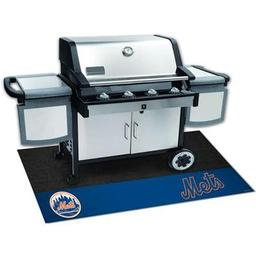"Click here to learn more about the New York Mets Grill Mat 26""x42""."