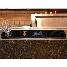 "Click here to learn more about the New York Mets Drink Mat 3.25""x24""."