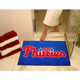 "Click here to learn more about the Philadelphia Phillies All-Star Mat 33.75""x42.5""."