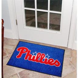 "Click here to learn more about the Philadelphia Phillies Starter Rug 20""x30""."