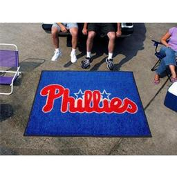 Click here to learn more about the Philadelphia Phillies Tailgater Rug 5''x6''.