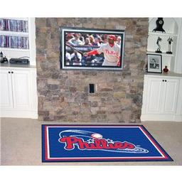 Click here to learn more about the Philadelphia Phillies Rug 5''x8''.