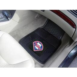 "Click here to learn more about the Philadelphia Phillies Heavy Duty 2-Piece Vinyl Car Mats 17""x27""."