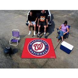 Click here to learn more about the Washington Nationals Tailgater Rug 5''x6''.