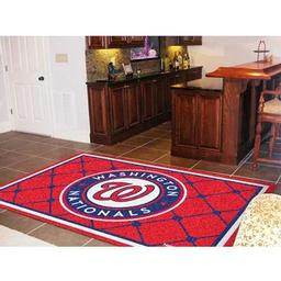 Click here to learn more about the Washington Nationals Rug 5''x8''.