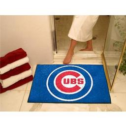 "Click here to learn more about the Chicago Cubs All-Star Mat 33.75""x42.5""."