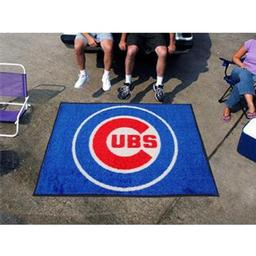 Click here to learn more about the Chicago Cubs Tailgater Rug 5''x6''.
