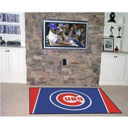 Click here to learn more about the Chicago Cubs Rug 4''x6''.