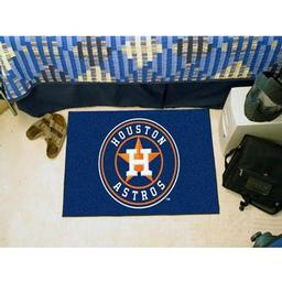 "Click here to learn more about the Houston Astros Starter Rug 20""x30""."