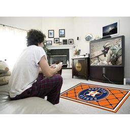 Click here to learn more about the Houston Astros Rug 4''x6''.