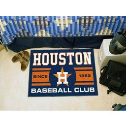 "Click here to learn more about the n Astros Baseball Club Starter Rug 19""x30""."