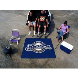 Click here to learn more about the Milwaukee Brewers Tailgater Rug 5''x6''.