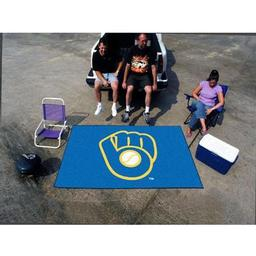"Click here to learn more about the Milwaukee Brewers ""Ball in Glove"" Ulti-Mat 5''x8''."