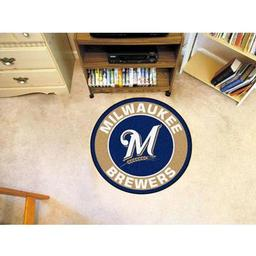 Click here to learn more about the Milwaukee Brewers Roundel Mat.