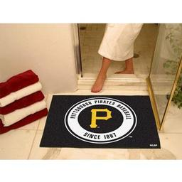 "Click here to learn more about the Pittsburgh Pirates All-Star Mat 33.75""x42.5""."