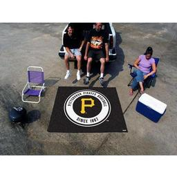Click here to learn more about the Pittsburgh Pirates Tailgater Rug 5''x6''.