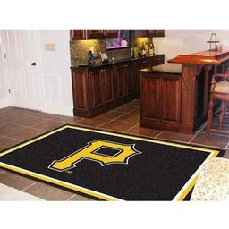 Click here to learn more about the Pittsburgh Pirates Rug 5''x8''.