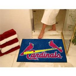 "Click here to learn more about the St. Louis Cardinals All-Star Mat 33.75""x42.5""."