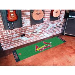 Click here to learn more about the St. Louis Cardinals Putting Green Runner.