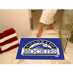 "Click here to learn more about the Colorado Rockies All-Star Mat 33.75""x42.5""."