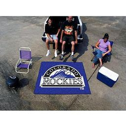 Click here to learn more about the Colorado Rockies Tailgater Rug 5''x6''.