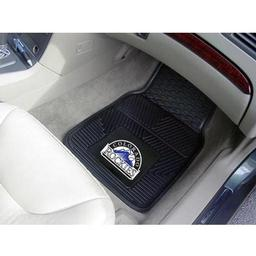 "Click here to learn more about the Colorado Rockies Heavy Duty 2-Piece Vinyl Car Mats 17""x27""."