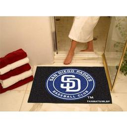 "Click here to learn more about the San Diego Padres All-Star Mat 33.75""x42.5""."