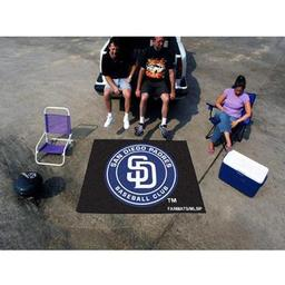 Click here to learn more about the San Diego Padres Tailgater Rug 5''x6''.