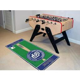 "Click here to learn more about the San Diego Padres Baseball Runner 30""x72""."