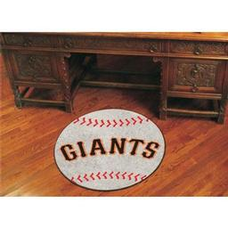 "Click here to learn more about the San Francisco Giants Baseball Mat 27"" diameter."