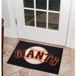 "Click here to learn more about the San Francisco Giants Starter Rug 20""x30""."