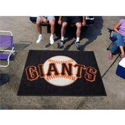 Click here to learn more about the San Francisco Giants Tailgater Rug 5''x6''.