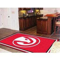Click here to learn more about the Atlanta Hawks Rug 5''x8''.
