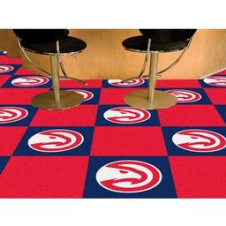 "Click here to learn more about the Atlanta Hawks Carpet Tiles 18""x18"" tiles."