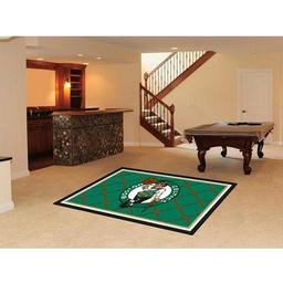 Click here to learn more about the Boston Celtics Rug 5''x8''.