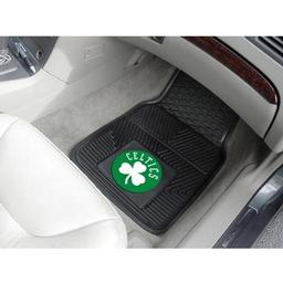 Click here to learn more about the Boston Celtics 2-pc Vinyl Car Mat Set.