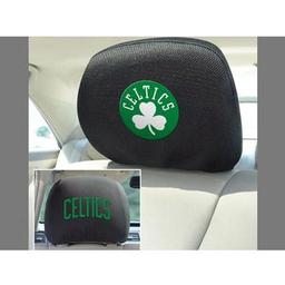 "Click here to learn more about the Boston Celtics Head Rest Cover 10""x13""."
