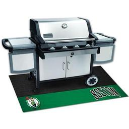 "Click here to learn more about the Boston Celtics Grill Mat 26""x42""."