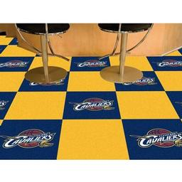 "Click here to learn more about the Cleveland Cavaliers Carpet Tiles 18""x18"" tiles."