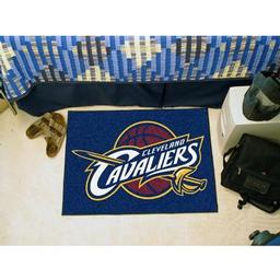 "Click here to learn more about the Cleveland Cavaliers Starter Rug 19"" x 30""."