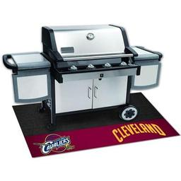 "Click here to learn more about the Cleveland Cavaliers Grill Mat 26""x42""."