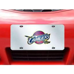 "Click here to learn more about the Cleveland Cavaliers License Plate Inlaid 6""x12""."
