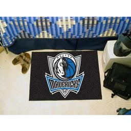 "Click here to learn more about the Dallas Mavericks Starter Rug 19"" x 30""."
