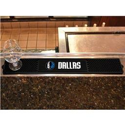 "Click here to learn more about the Dallas Mavericks Drink Mat 3.25""x24""."