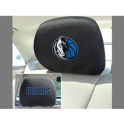 "Click here to learn more about the Dallas Mavericks Head Rest Cover 10""x13""."